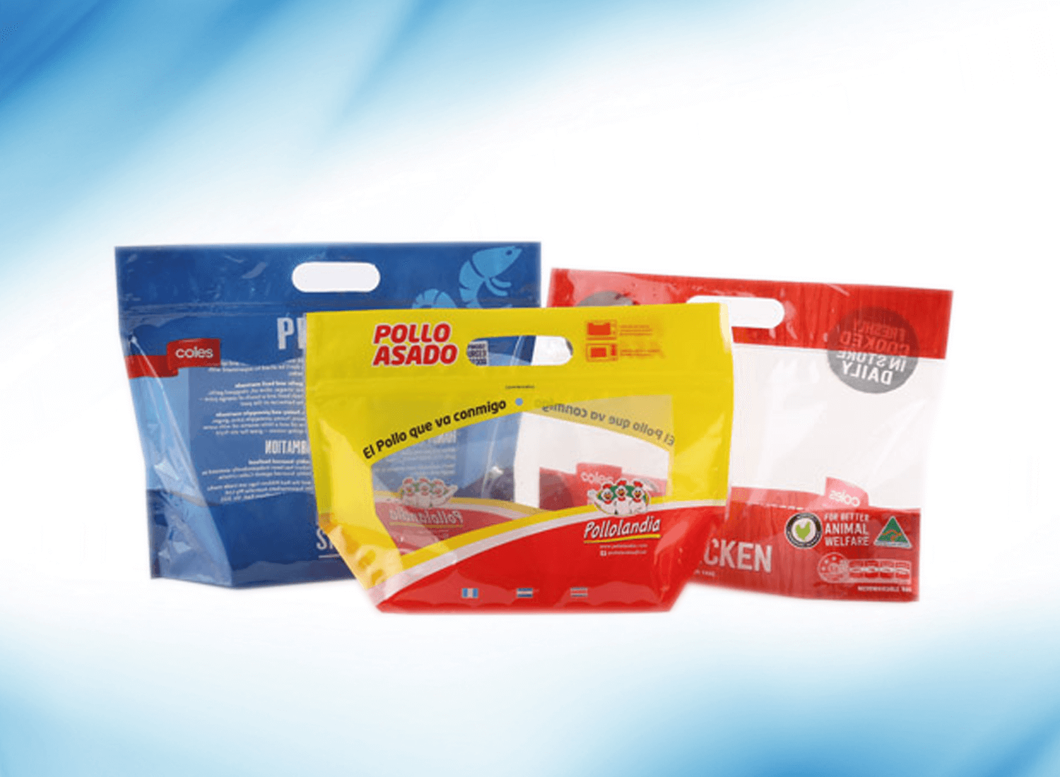 CO-EXTRUDED & LAMINATED-01 ZIPPER BAG